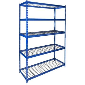 Long Span Medium Duty Selective Warehouse Storage Pallet Rack Wire Shelving