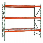 Wire Mesh Plate Heavy Duty Warehouse Storage Racks Industrial Steel Shelving