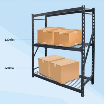 Multi-Purpose 4-Tier Large Capacity Industrial Warehouse Steel Storage Rack Wire Shelving Shelf